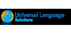 Universal Language Solutions